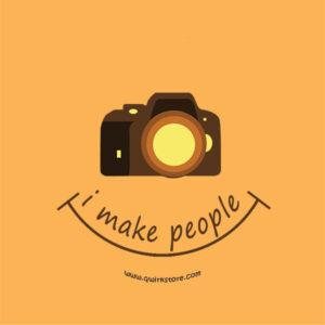 I make people smile