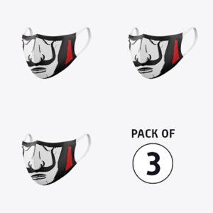 Pack Of Three: Salvador Dali (Bella Ciao)