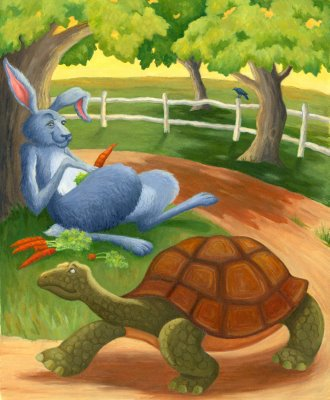 The Retelling of The Hare- Tortoise Race