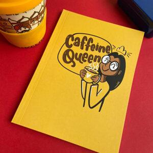 Caffeine Queen - Notebook